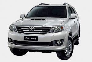 Toyota Fortuner o similares