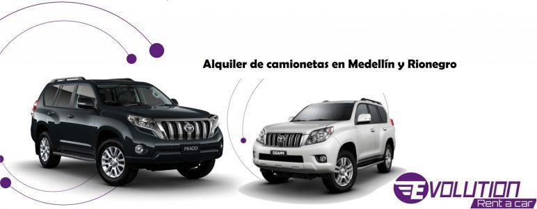 Alquiler y Renta de camionetas en Medellin y Colombia