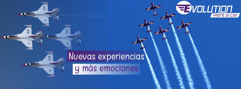 Feria aeronáutica, una experiencia llena de emociones que no puedes dejar pasar