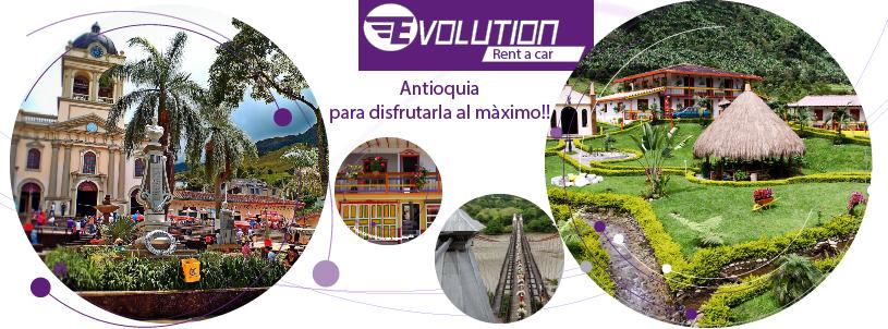 Alquiler de autos en Antioquia