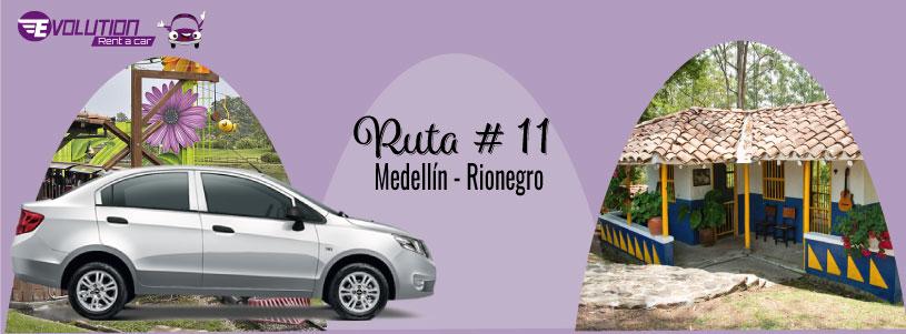 Ruta 11 Medellín – Rionegro un paraíso del Oriente