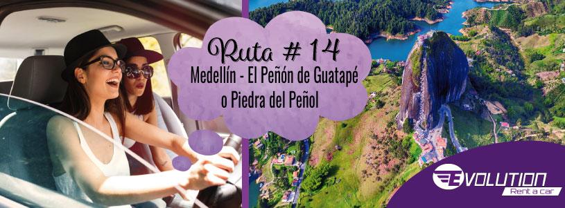 Ruta 14 Medellín – El Peñol y su piedra gigante, Tierra de agua