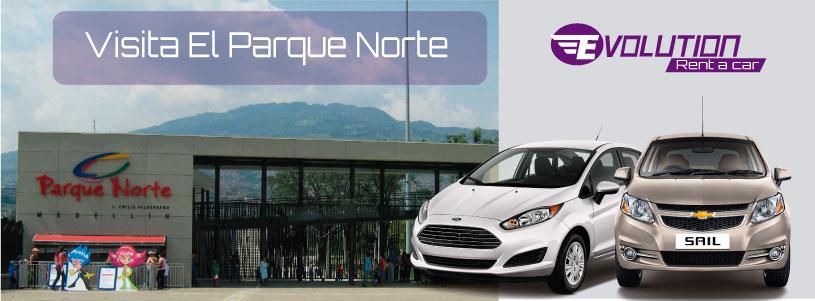Visita el Parque Norte con Evolution Rent a Car - Alquiler de vehículos en Medellín