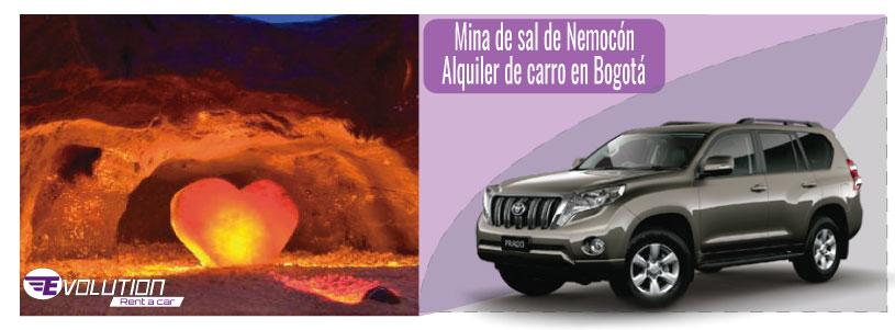 Visita Mina de sal de Nemocón con Alquiler de carro en Bogotá