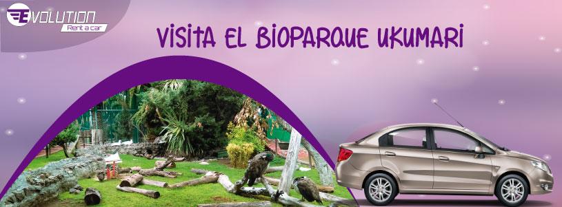 Visita el Bioparque Ukumari con Evolution Rent A Car Alquiler de Autos en Pereira