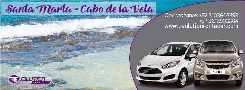 Ruta 25 Santa Marta – Cabo de la Vela – Renta de vehículos en Santa Marta