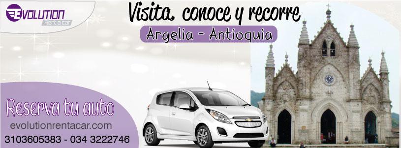 Visita, conoce y recorre Argelia Antioquia junto a Evolution Rent A Car Rionegro