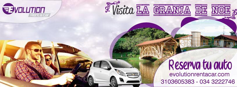 Alquiler de carros en Pereira – Visita la granja de Noe