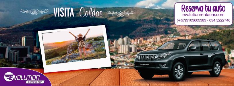 Medellín- Caldas Antioquia con Alquiler de carros Medellin
