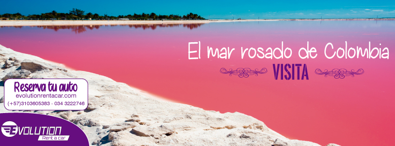 Visita Galerazamba y el Mar Rosa con  Rent A Car In Cartagena