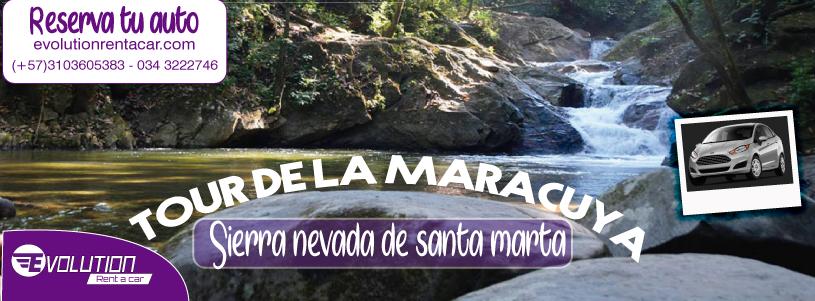Tour de la Maracuyá en la Sierra Nevada con Evolution Rent a car Santa Marta