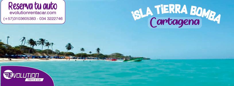 Visita La Isla Tierra Bomba con Renta de Carros en Cartagena