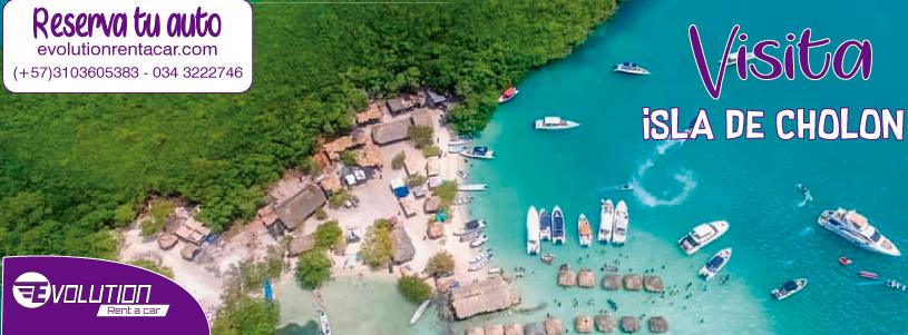 Visita la Isla Cholón- Evolution Rent A Car Alquiler de Camionetas en Cartagena
