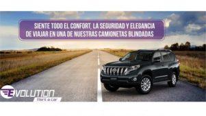 Alquiler de camionetas blindadas en Medellín y Rionegro