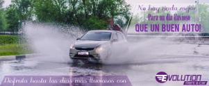 ¿Días lluviosos? Renta un auto y disfruta tus recorridos