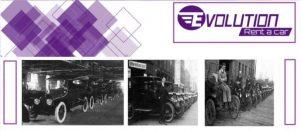 Historia de las empresas de Alquiler de vehiculos