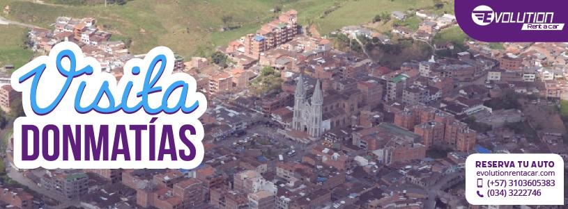 Visita Donmatías con Renta de Vehículos en Rionegro