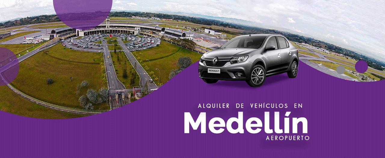 Rent a car Medellín aeropuerto