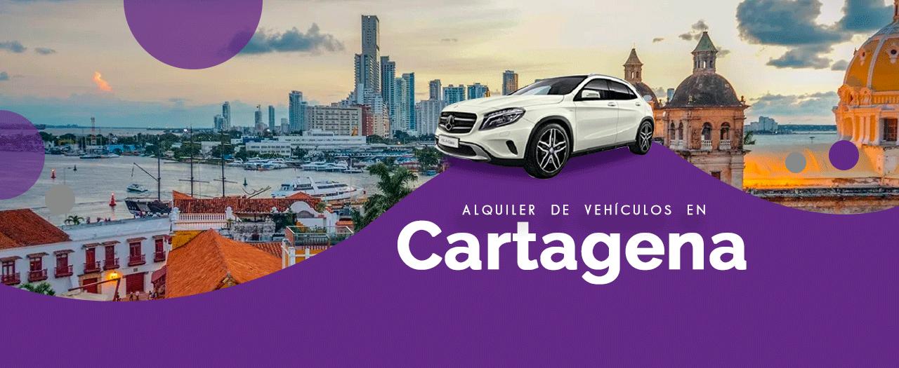 Renta de carros en Cartagena, seguro y confiable